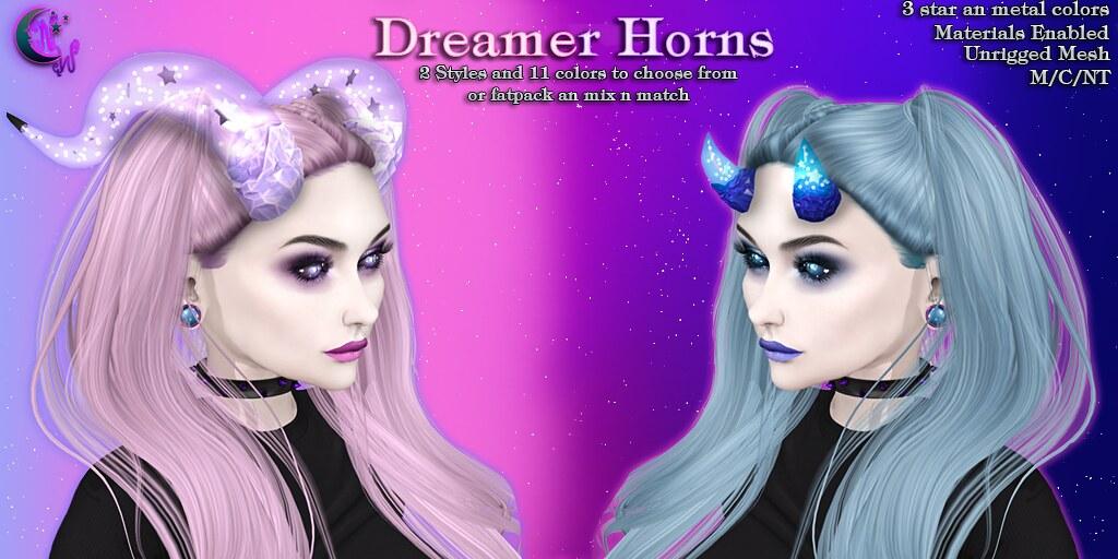 *NW* Dreamer Horns