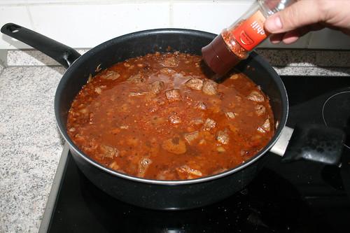 31 - Mit Salz, Pfeffer & Chiliflocken abschmecken / Taste with salt, pepper & chili flakes