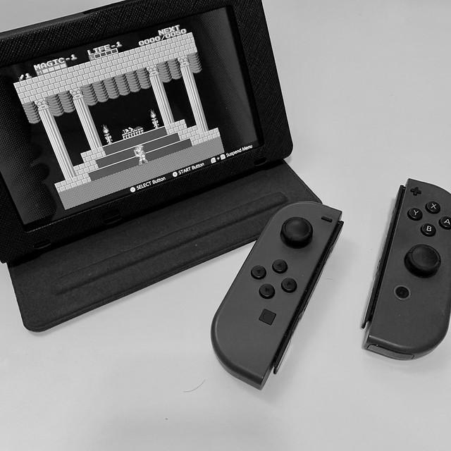 Zelda II: The Adventure of Link on Switch