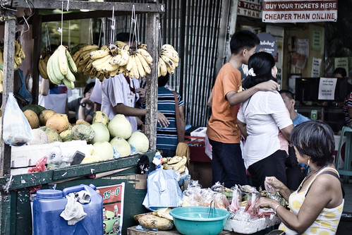 street people food vegetables fruit sony a6000 stall bacolod city philippines asia