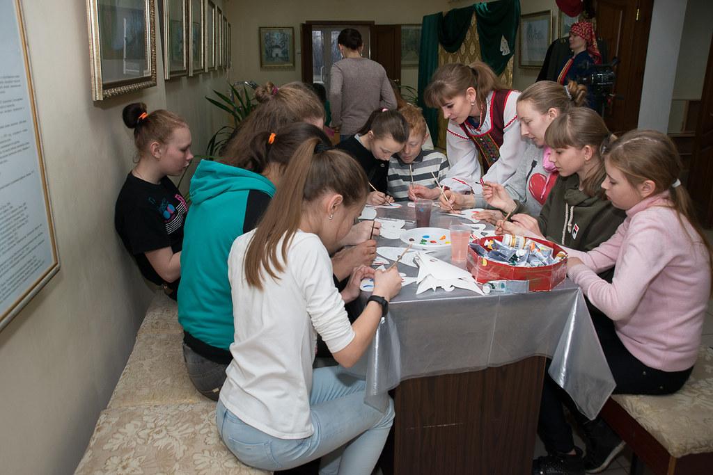 Фотоотчет с всероссийской акции «Библионочь» в «Тарханах»