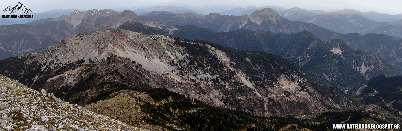 ανατολικο παναιτωλικο βουνοκορφες οροσειρα ορεινο θερμο