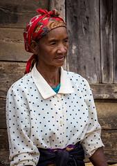 Retrat de dona malgatxe a Andasibe