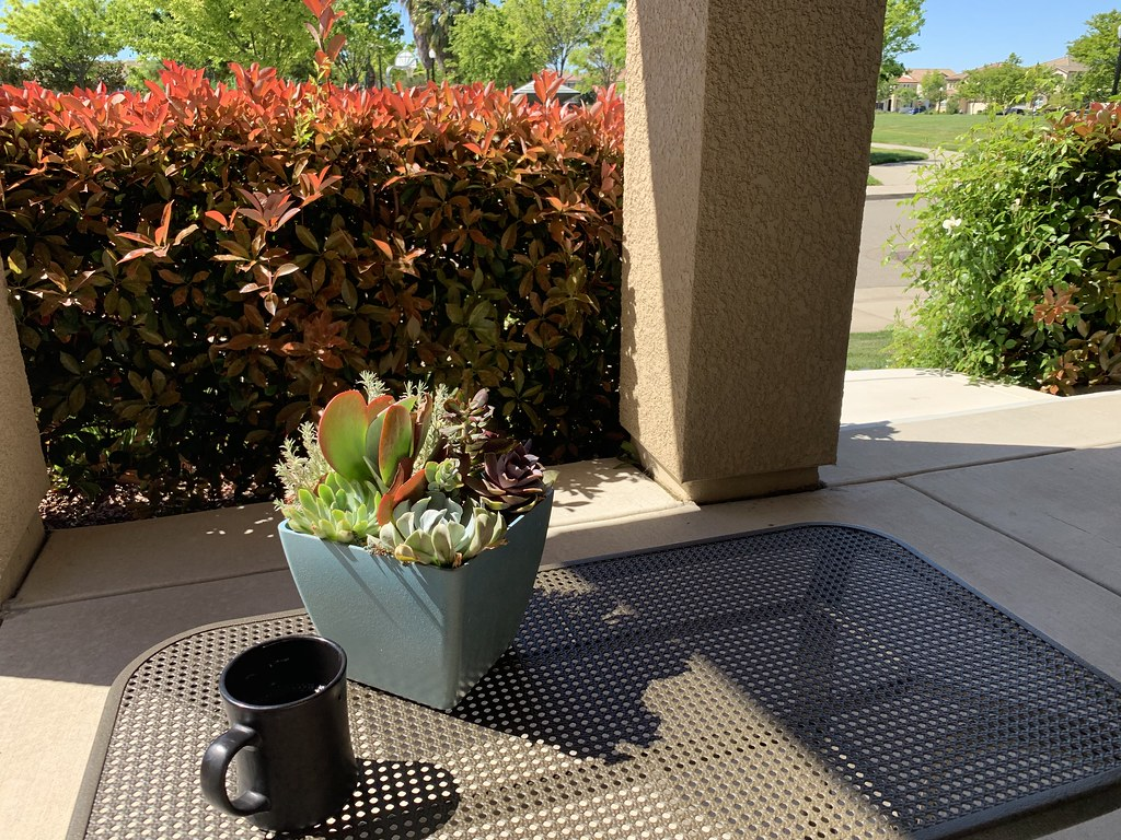 Front porch coffee