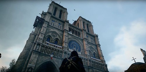 Notre Dame Assasin's Creed