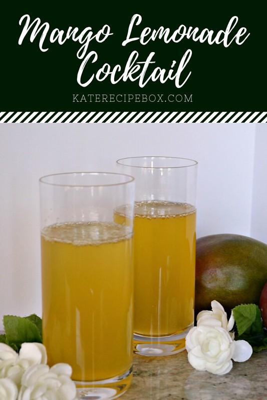 Mango Lemonade Cocktail