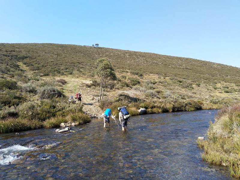 Tooma river crossing