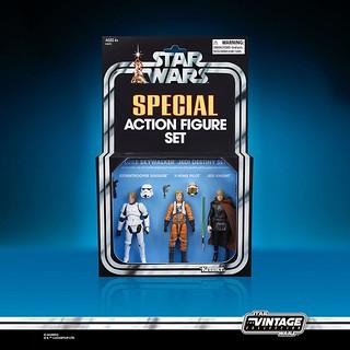 囊括路克各經典造型的特別套組! 孩之寶 Vintage Collection 系列《星際大戰》路克·天行者 組合包 Luke Skywalker Pack【2019 SDCC 限定】