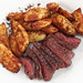 Venison and Ovenroasted Potatoes