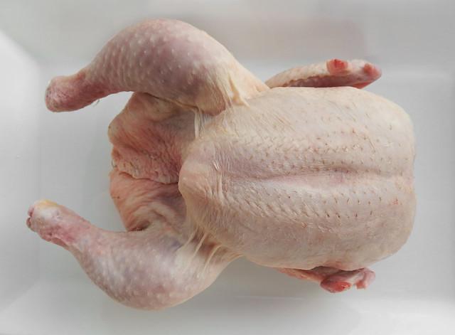 Kip voor in de oven