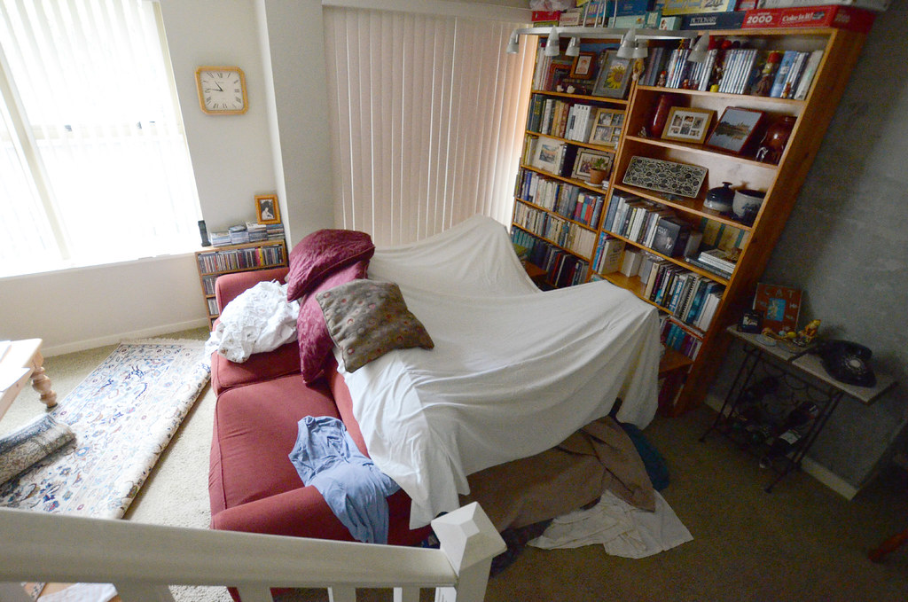 Blanket Fort We Camped Out In Our Living Room This Week Tom Magliery Flickr