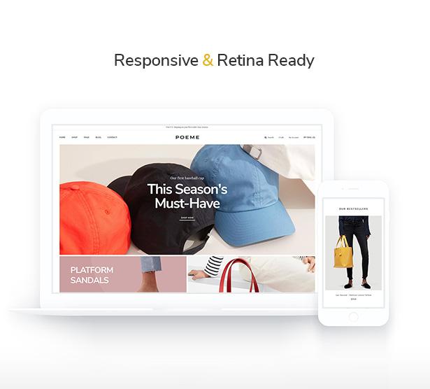 Ap Poeme Elegant & Professional Versatile Shopify Theme - fully responsive