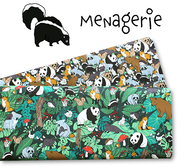 Paintbrush Studio Fabrics Menagerie