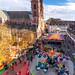 Basel, 1. November 2018, Riesenrad auf der Herbstmesse