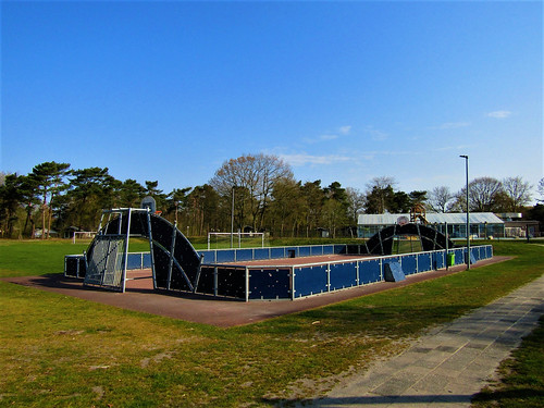sports field at Holiday Park Westerbergen in Drenthe