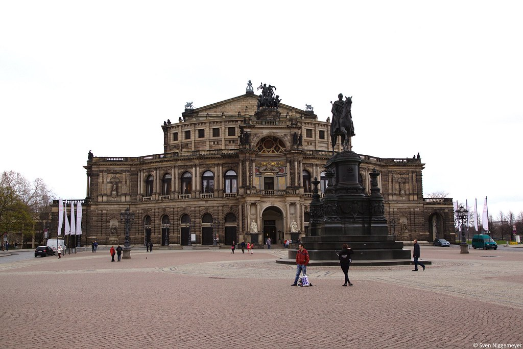 Semperoper in Dresden am 27.03.19