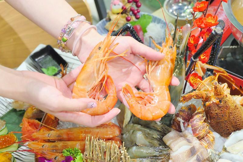 46752323245 0a0b4e6b30 c - 熱血採訪│十八魂手串燒烤,母親節限定豪邁痛風鍋 斯里蘭卡巨蝦+7種海鮮!串燒50元起便宜又好吃