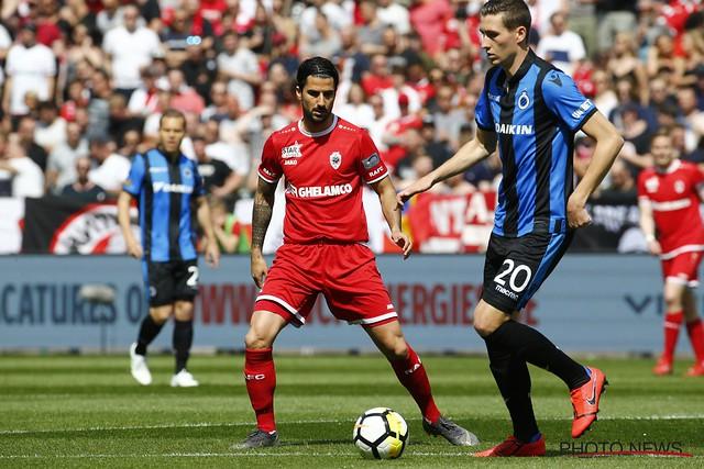 Antwerp-Club Brugge 22-04-2019
