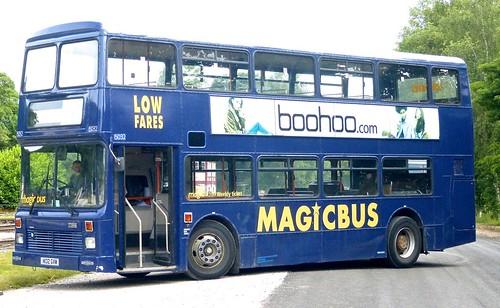 H132 GVM 'Stagecoach Manchester' No. 15032 'MAGICBUS'. Dennis Dominator / Northern Counties on Dennis Basford's railsroadsrunways.blogspot.co.uk'