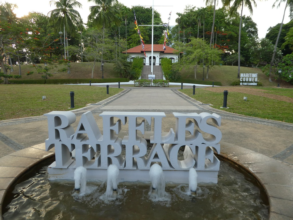 Raffles Terrace, Fort Canning Park, Singapore