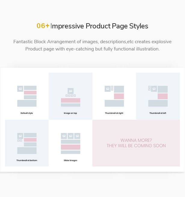 Impressive Product page styles