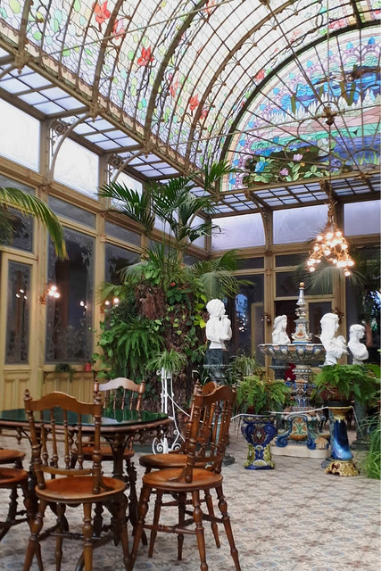 Art Nouveau in Wintertuin Ursulinen, vlakbij Mechelen | Mooistestedentrips.nl