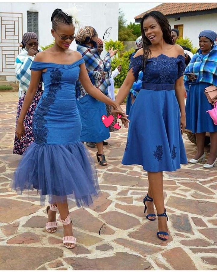 Fascinating Designs Shweshwe Dresses 2019