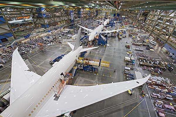 787 Factory Photos - Everett WA Oct. 2012
