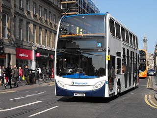 Stagecoach in Newcastle 19218 NK57DXE