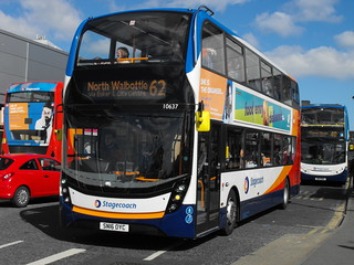 Stagecoach in Newcastle 10637 SN16OYC