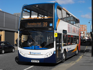 Stagecoach in Newcastle 19430 NK58FMO