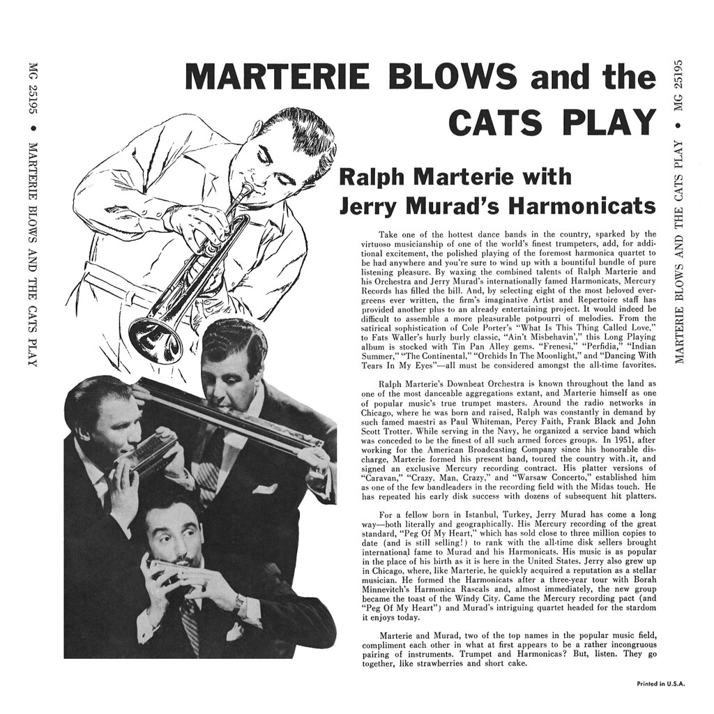 Ralph Marterie - Marterie Blows And The Cats Play