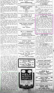2019-04-23. Busselberg, News, 7-26-1923