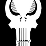 The Official Skull Emblem of Punisher Harp Zone