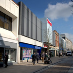 Shops down Fishergate, Preston