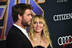 Liam Hemswoth & Miley Cyrus at Marvel's Avengers Endgame World Premiere in Downtown Los Angeles - DSC_0449