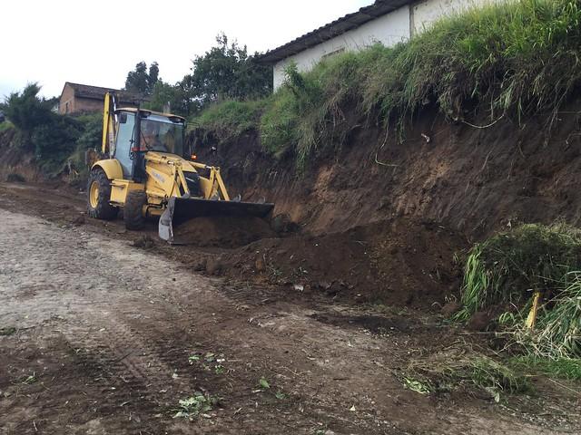 Más de 4 millones para  nuevos asfaltados en la provincia del Carchi