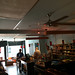 Intérieur du salon de thé du Quartier Latin