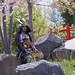 2019 - Evènement - Un samouraï dans le parc japonais de Marseille