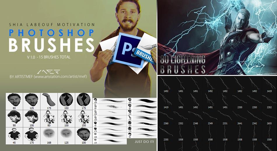 Pinceles para Photoshop: más de 250 pinceles de alta calidad gratis para todo diseñador