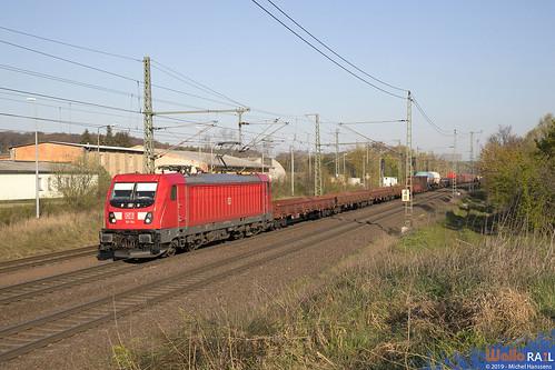 187 164 . DB Cargo . Wefensleben . 17.04.19.