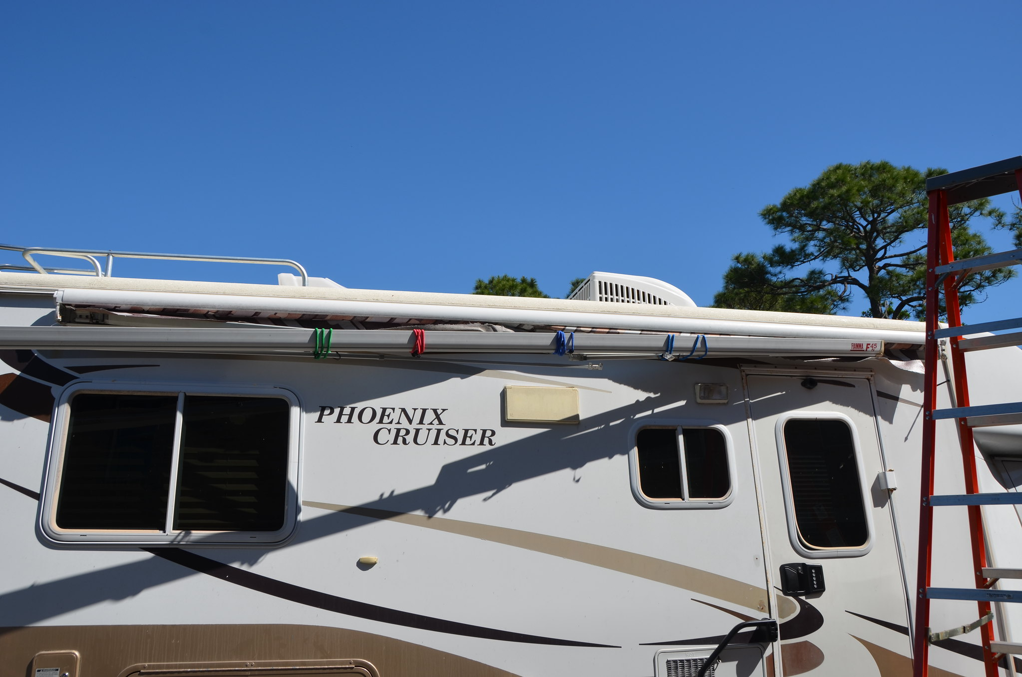 Replacement Of Fiamma 45i Awning