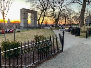 Prospect Terrace Park sunset