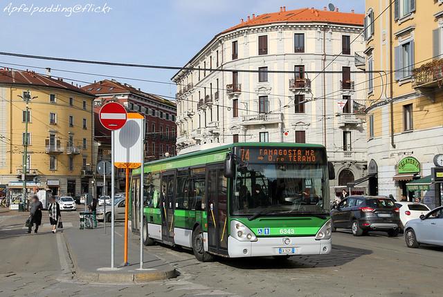 Bunte Buswelt - Mailand