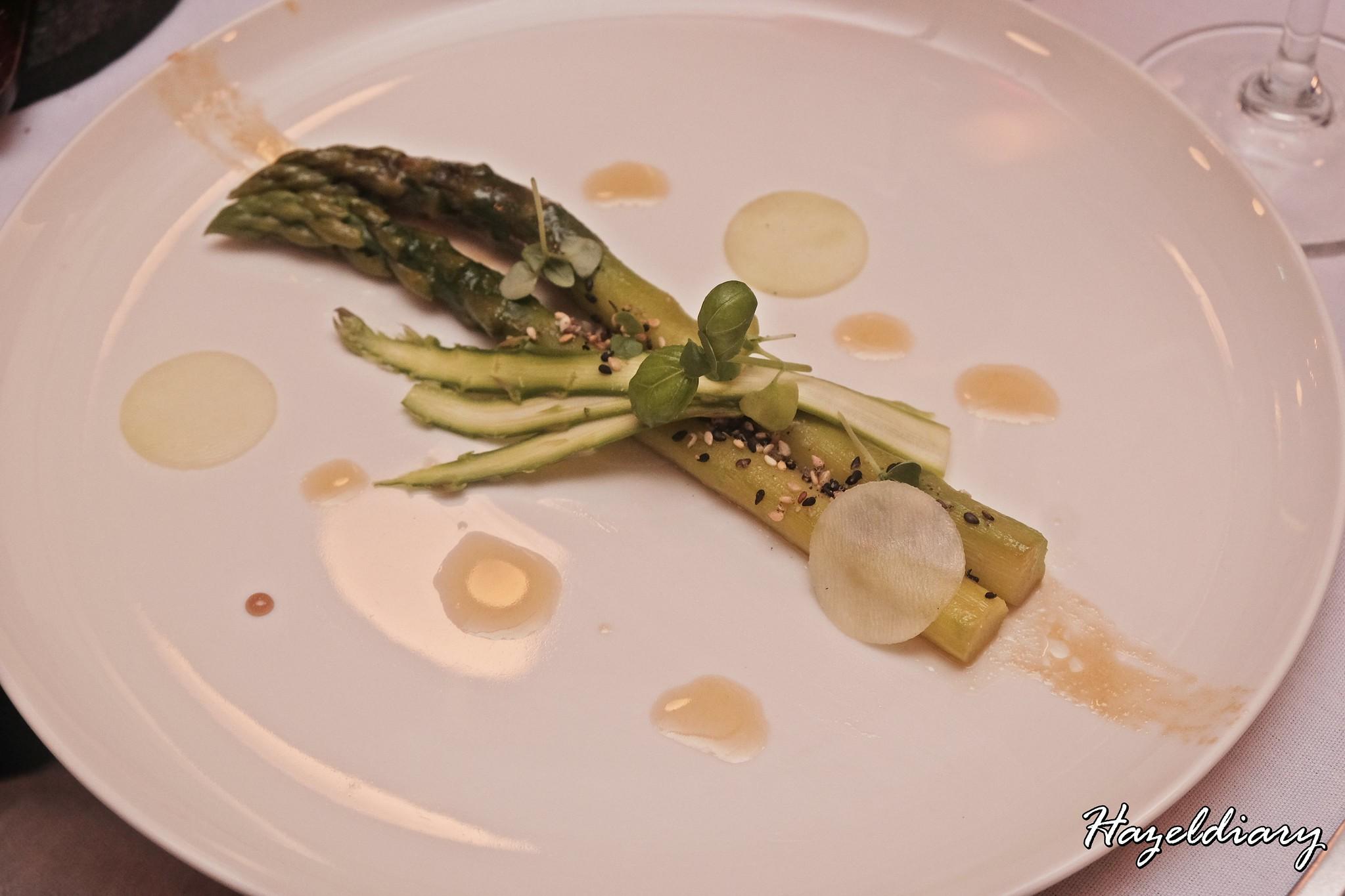 Restaurant JAG-Duxton Road-Asparagus