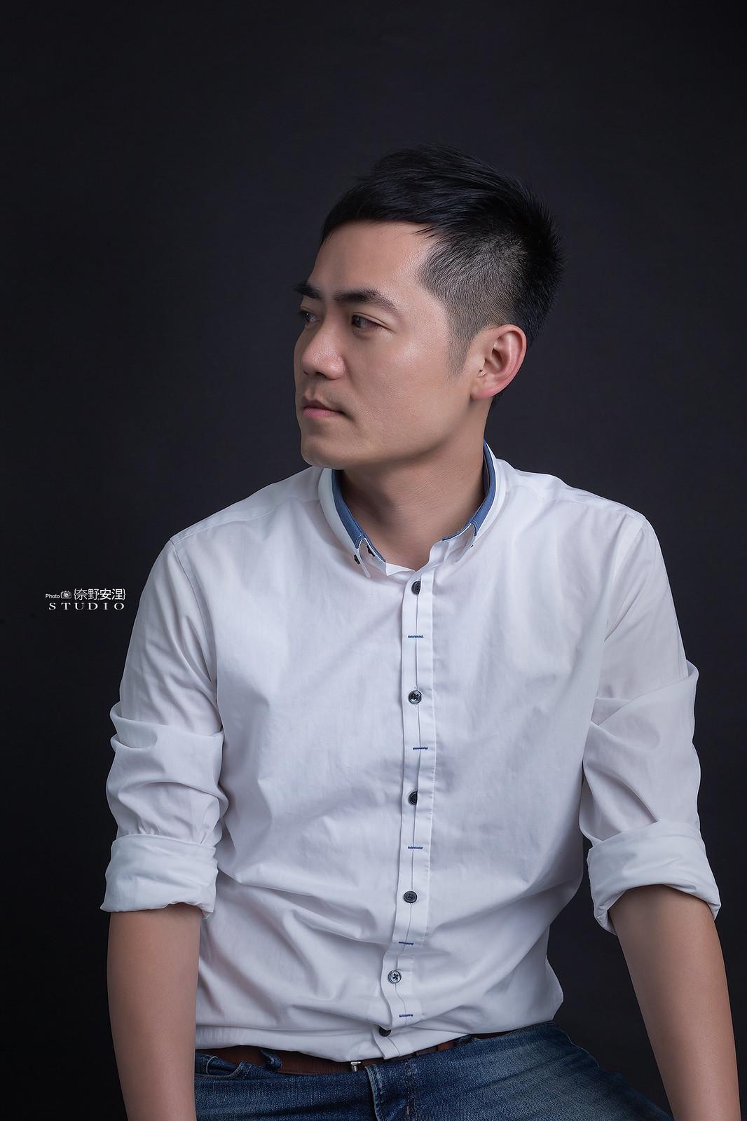 南部髮品金牌型男業務-昇澤髮品 |攝影白棚1-2