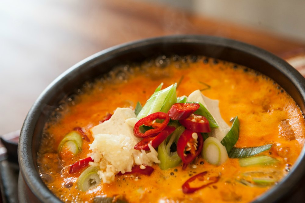 What to Eat in Seoul - Spicy Tofu Soup