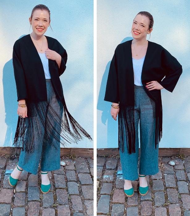 Fringe Kimono 1