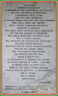 """ad ignominia"" Ode di Piero Calamandrei a Kesselring"