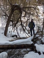 Chester Creek walk, Adam